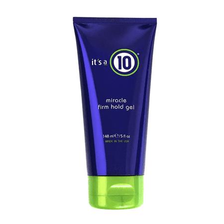- It's a 10 Miracle Firm Hold Gel 5 Oz, Ultra Control, Alcohol Free And Non Flaking