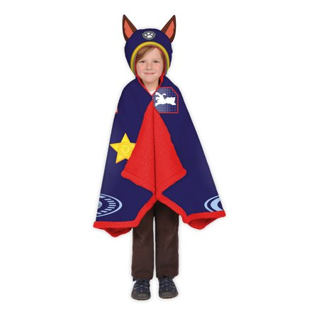 PAW Patrol Chase Kids Snuggle Wrap, Blue, He's Number 1