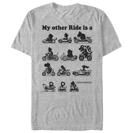 Nintendo Men's My Other Ride is Mario Kart T-Shirt