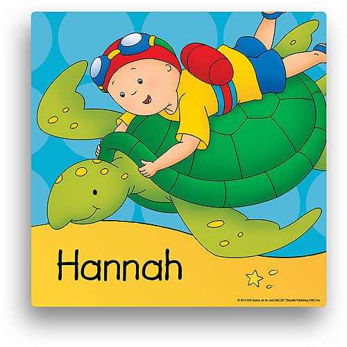 Personalized Caillou Imagine 12' x 12' Canvas Wall Art