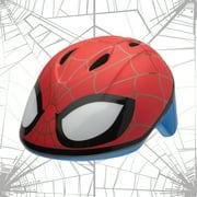 Marvel Spider-Man Spidey Eyes Bell Bike Helmet, Red, Toddler 3+ (48-52cm)
