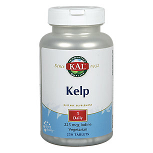 Kal Kelp Iodine, Tablet (Btl-Plastic) 225mcg 250ct by