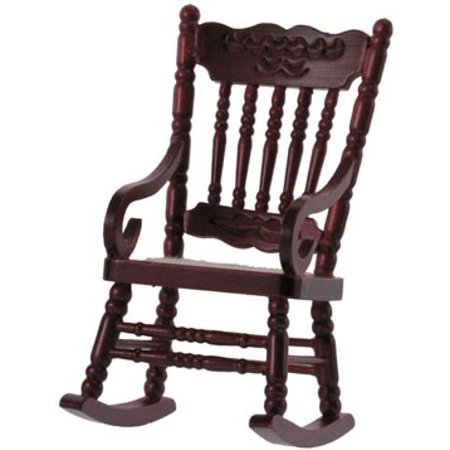 Dollhouse Gloucester Rocking Chair, Mahogany
