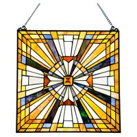 River of Goods Pharaoh Jeweled Window Panel Lamp