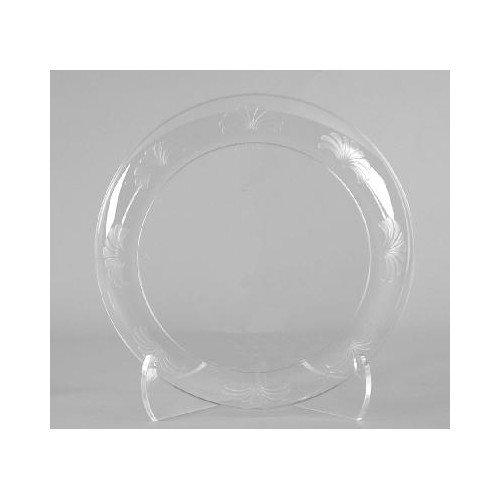 WNA Comet Designerware 7.5'' Plastic Plate in Clear