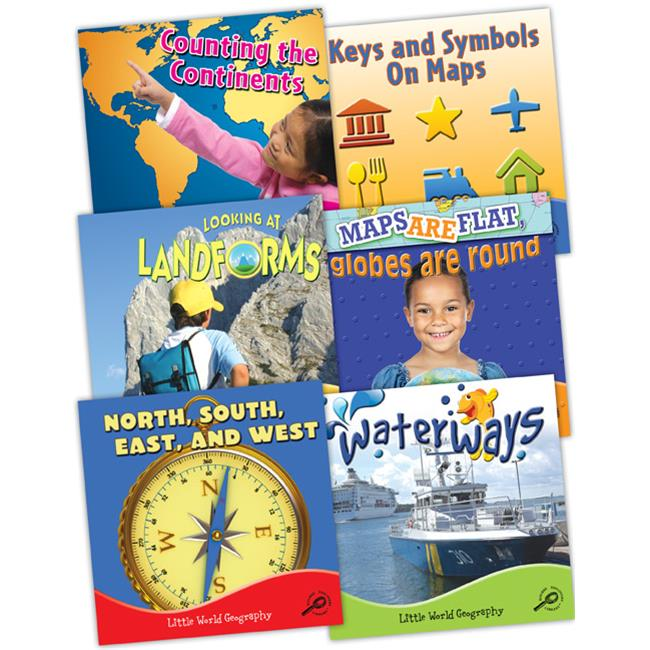 Teacher Created Resources 945322 Little World Geography Set of 6 Books by