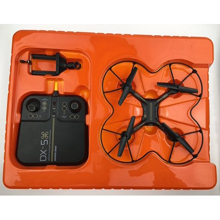 2017 Sharper Image Dx 5 Video Streaming Stunt Drone With Auto