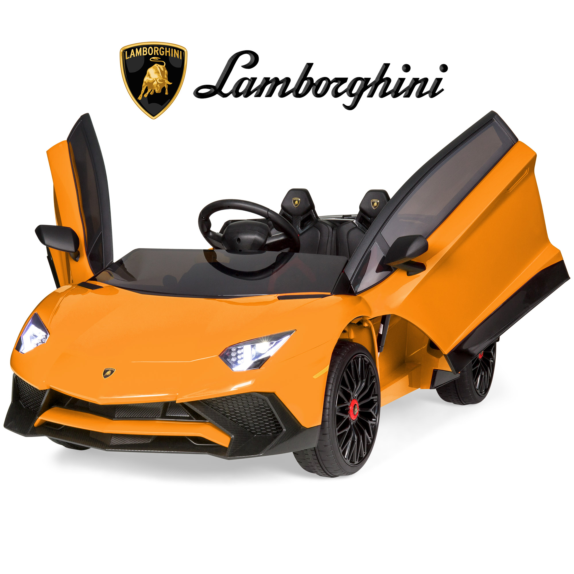 Best Choice Products Kids 12V Ride On Battery Powered Vehicle Lamborghini Aventador SV Sports Car Toy w ... by Best Choice Products