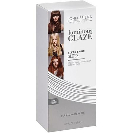 John Frieda Clear Shine Luminous Glaze for All Hair Shades, 6.5 oz (Pack of (Clean Hair)