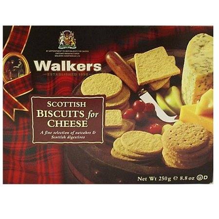 Walkers Shortbread Scottish Biscuits for Cheese, 8.8 Ounce Digestive Biscuits and Oat Cracker Variety