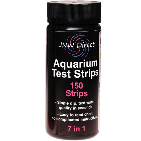 JNW Direct 7 in 1 Aquarium Test Strips, Best Kit for Water Testing 150