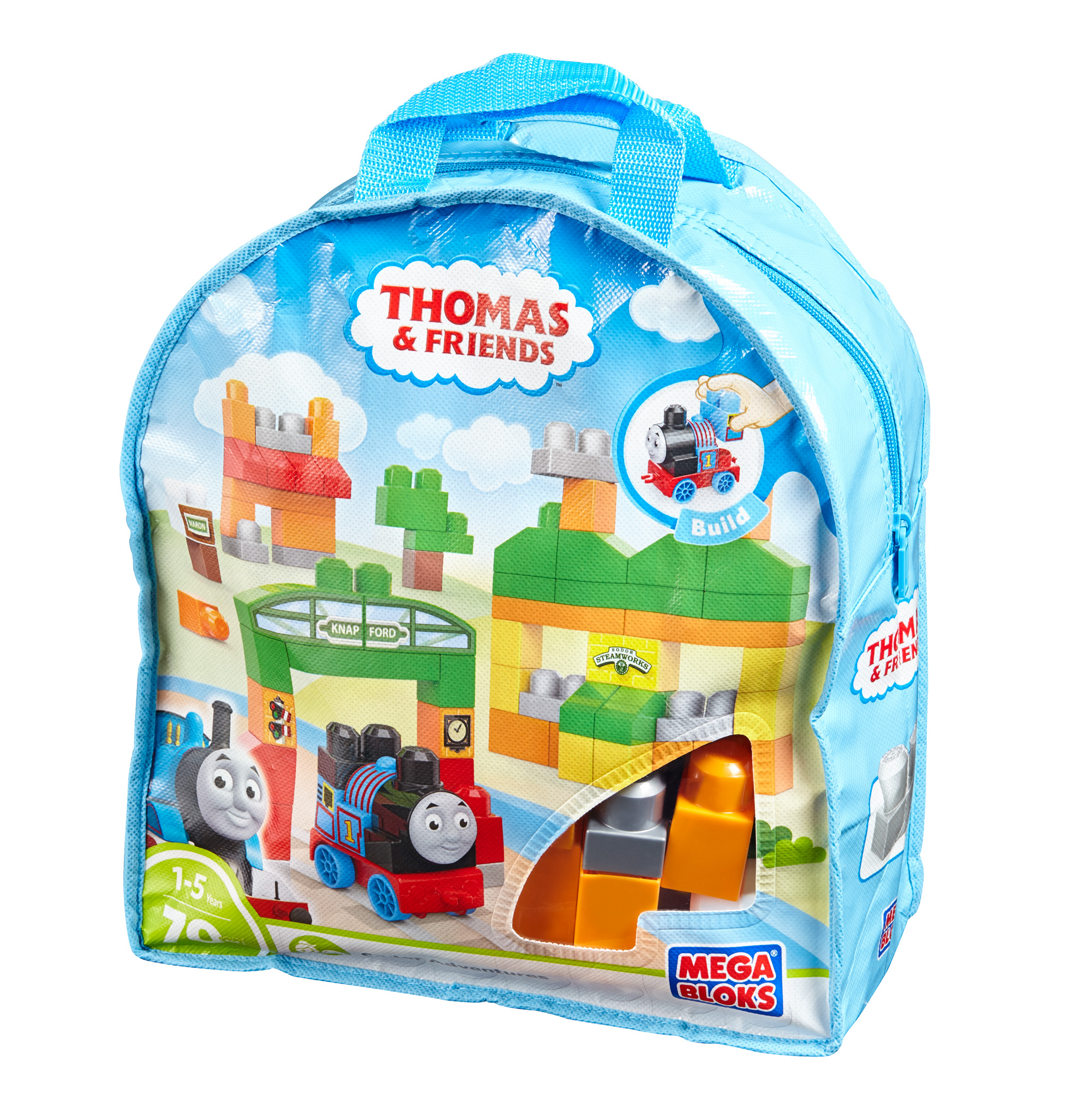 Mega Bloks Thomas & Friends Thomas Sodor Adventures Building Bag by Mega Bloks