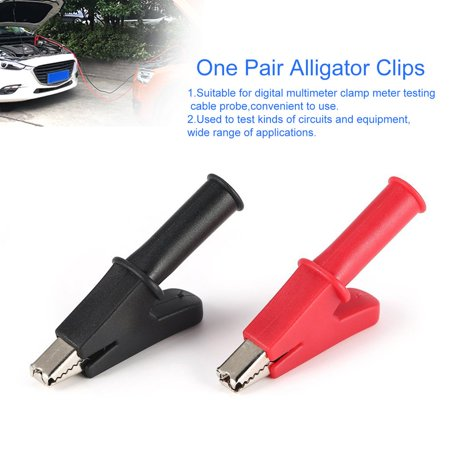 Easy-life 2 Pcs Full Protective Alligator Clips Crocodile Clamp for Multimeter Test Pen - image 3 of 6