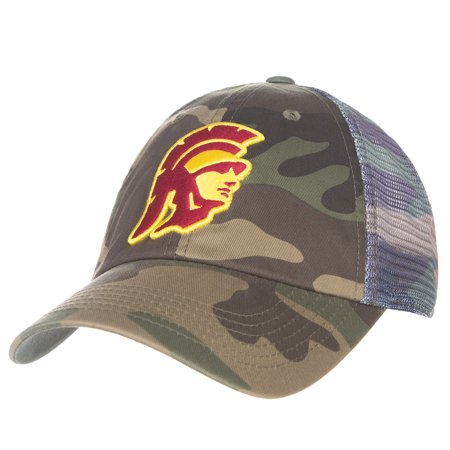 Usc Trojans Yard (Men's Camo USC Trojans Cambletown Adjustable Snapback Hat - OSFA )