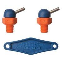 LOC-LINE 72020 Nozzle,CT Style,0.117in.dia,PK2