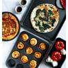 Granitestone 20 Piece Non-Stick Cookware Set, Granite Coated, PFOA Free, Oven Safe, Dishwasher Safe