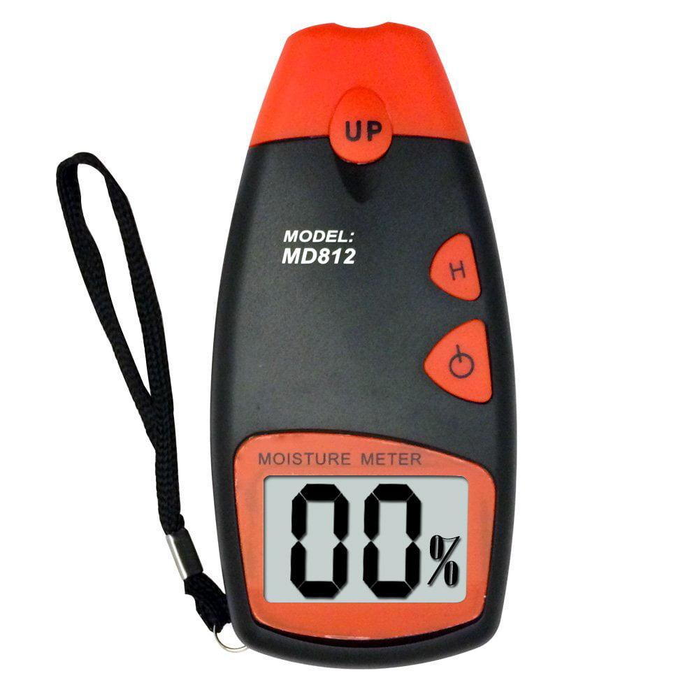 Dr. Meter MD-812 LCD Display Digital Wood Moisture Meter for Wood SHeetrock Sub-flooring... by Dr.Meter