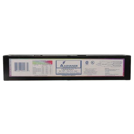 Advance IOP-3S32-SC Electronic Fluorescent Ballast, 3-Lamp, T8 F32T8 32W, 120/277V ()