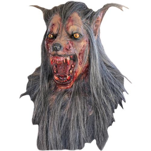 Brown Wolf Mask Adult Halloween Accessory
