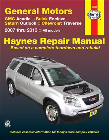 2007 GMC Acadia Owners Manual User Guide Reference Book OEM
