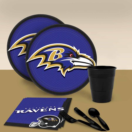Baltimore Ravens Tableware Party Pack for - Halloween Party Baltimore Md