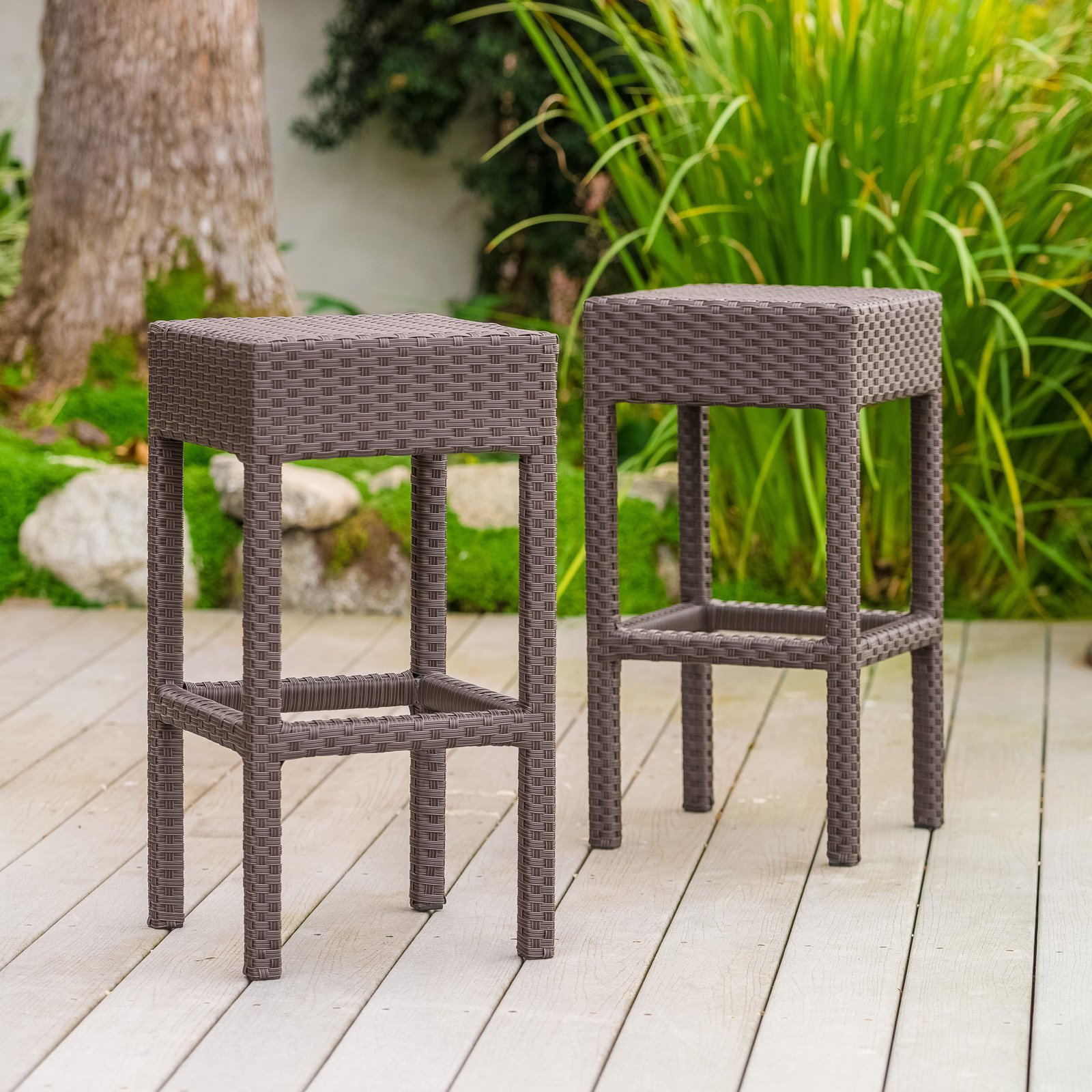 Vollmer 27 in. Counter Stool - Set of 2