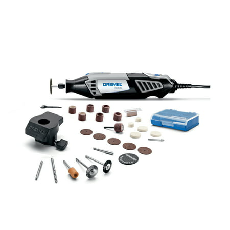 Dremel 4000-1/26 1.6 Amp Corded Variable Speed Rotary Tool, 1 Attachment And 26
