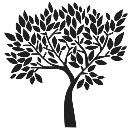 - The Crafters Workshop TCW-831 Faithful Tree - Templates, 12 x 12 in.