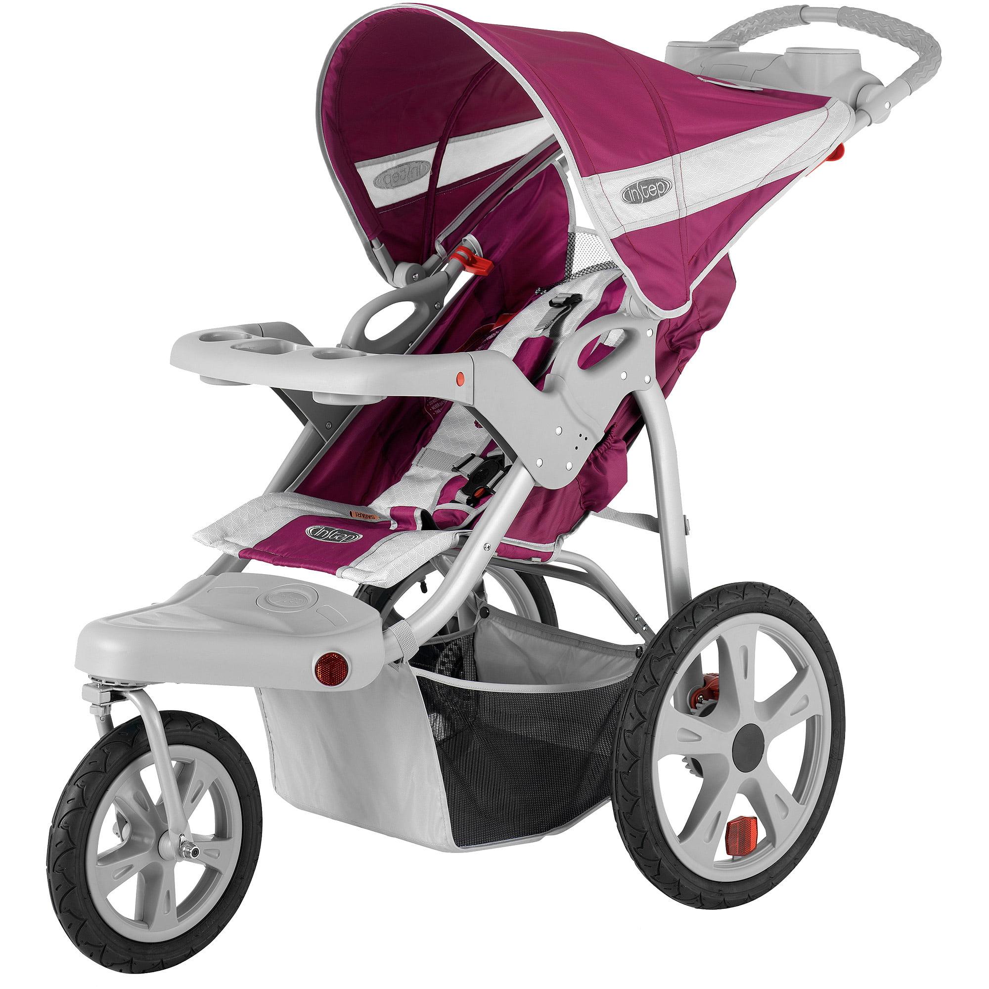 InStep Safari Single Jogging Stroller - Walmart.com
