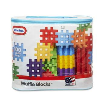 Little Tikes Waffle Blocks Bag (100-Piece)