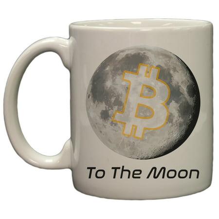 Bitcoin To The Moon 11Oz Coffee Mug