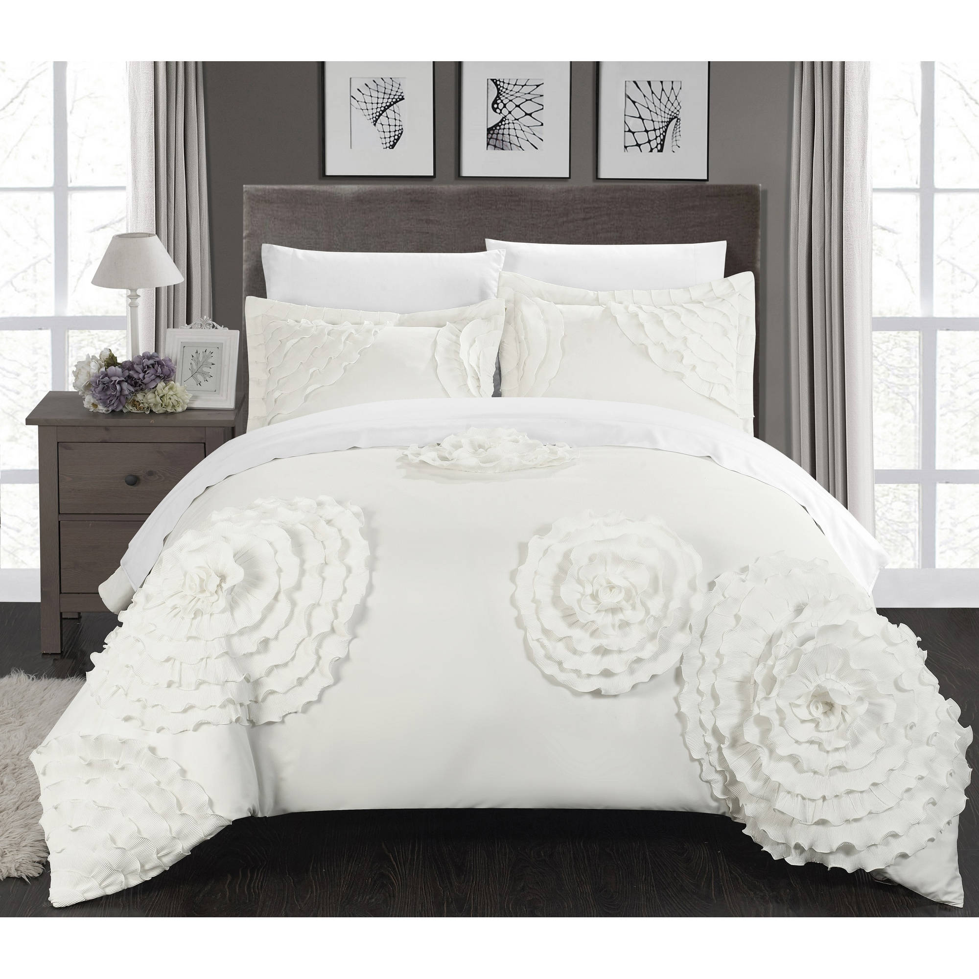 Chic Home Marissa 3-Piece Duvet Cover Set