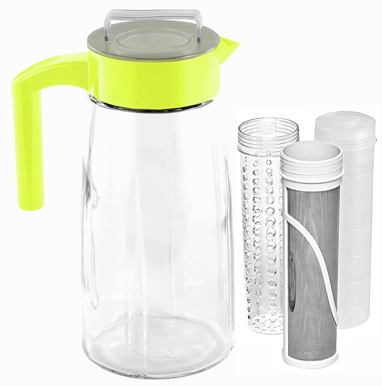 Cooking Upgrades 60oz Cold Brew Coffee Maker and Tea Maker With Ice