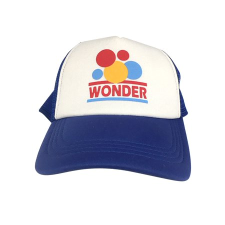 Wonder Trucker Hat Bread Ricky Bobby Talladega Nights Costume Hat Racecar Driver