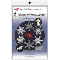 Quilled Creations Quilling Kit, Holiday Ornaments