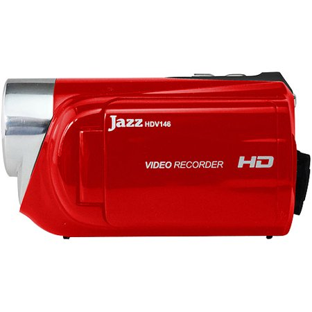 Digipower Hi-definition Jazz 8mp Vidcam 2inlcd Red