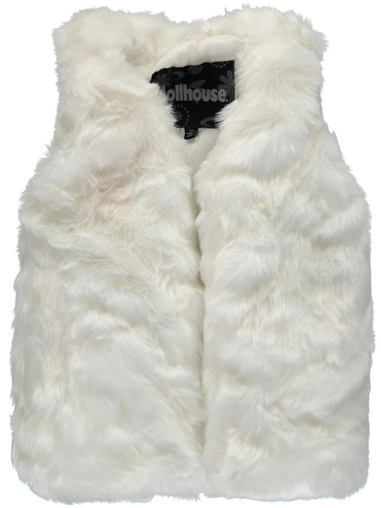 Chilli Pop Little Girls 4-6X Faux Fur Vest