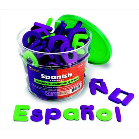 (Learning Resources 080985 Soft Foam Magnetic Spanish Letters)