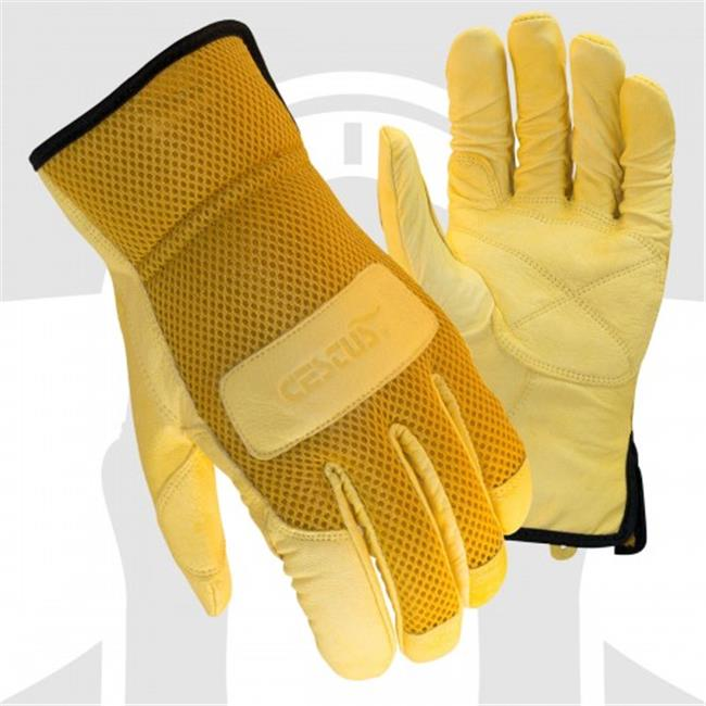 Cestus 6044 XL Trade Series Ez Landscape Goatskin Leather Work One Pair Glove - Extra Large