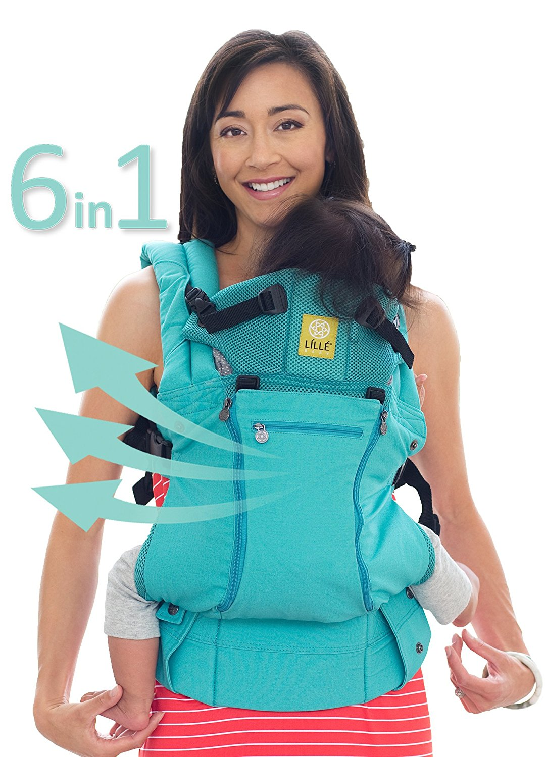 LILLEbaby All Seasons Baby Carrier Caribbean Sea by lillebaby