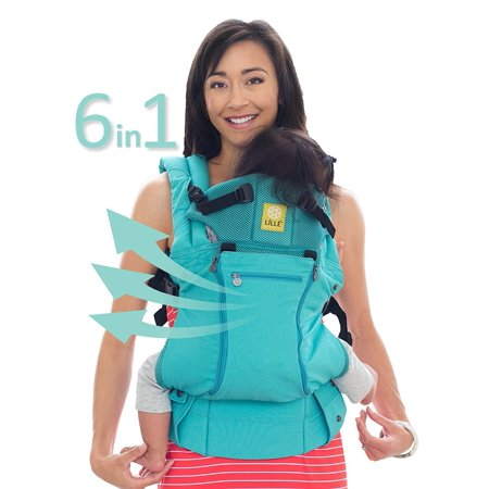 Lillebaby All Seasons Baby Carrier Caribbean Sea
