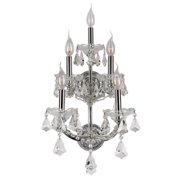 Worldwide Lighting Maria Theresa 5-Light Wall Sconce
