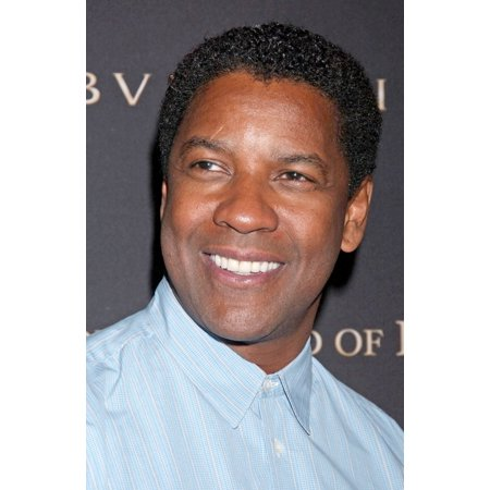 Denzel Washington At Arrivals For 2008 National Board Of Review Of Motion Picture Awards Gala Canvas Art     16 X 20