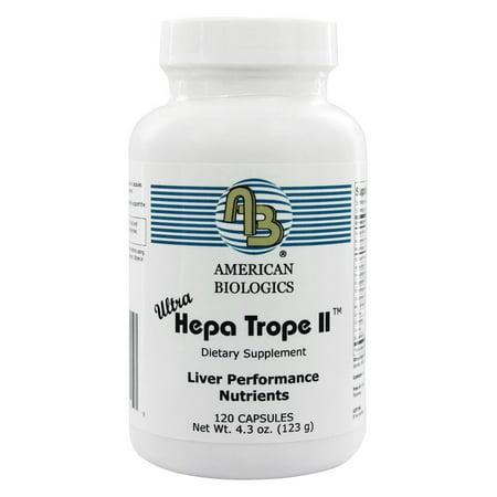 American Biologics   Ultra Hepa Trope Ii   120 Capsules
