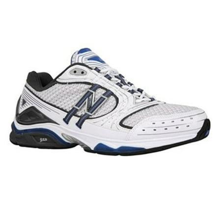 46928c22e New Balance - New Balance MX1010WB Cross- Training Shoe, White/ Blue -  Walmart.com