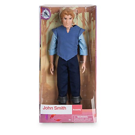 Disney Store Captain John Smith from Pocahontas Classic Doll New with Box