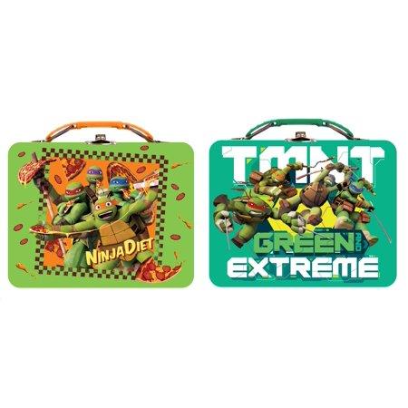 Lunch Box - Teenage Mutant Ninja Turtles - Metal Tin Box New - Metal Lunchbox