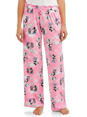 Mickey & Minnie Women's and Women's Plus Sleep Pant