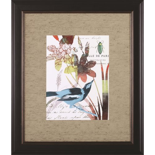 Art Effects 'Exotic Blossom I' by W. Green-Aldridge Framed Painting Print by Art Effects
