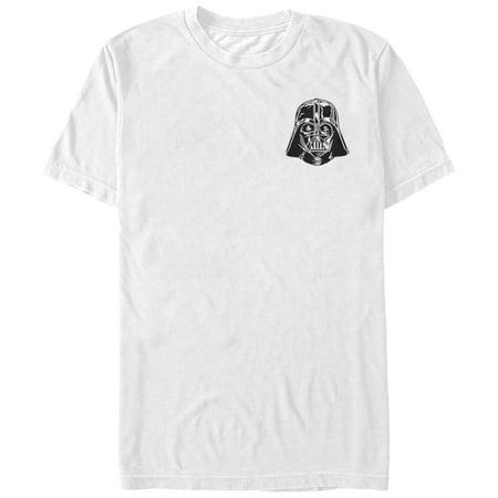 Star Wars Men's Mini Darth Vader Helmet T-Shirt